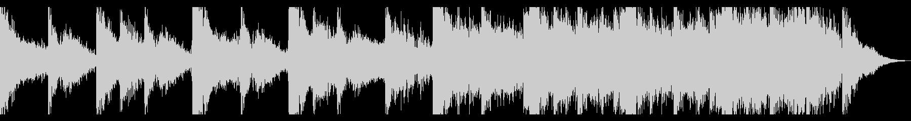 ダークシネマティックトレーラーの未再生の波形
