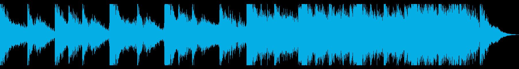 ダークシネマティックトレーラーの再生済みの波形