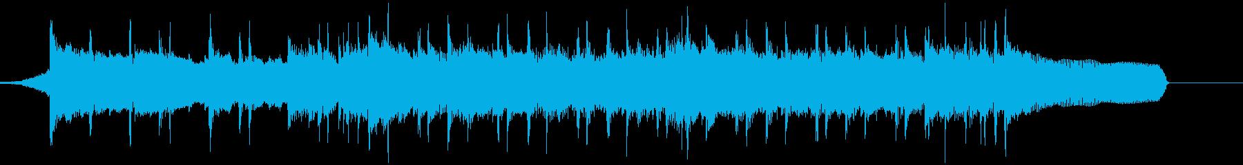 企業VP 前向き ポジティブ 30秒の再生済みの波形