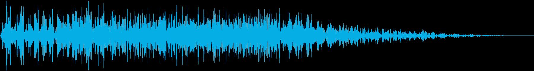 モーターフィルターエアヒューシュ1...の再生済みの波形