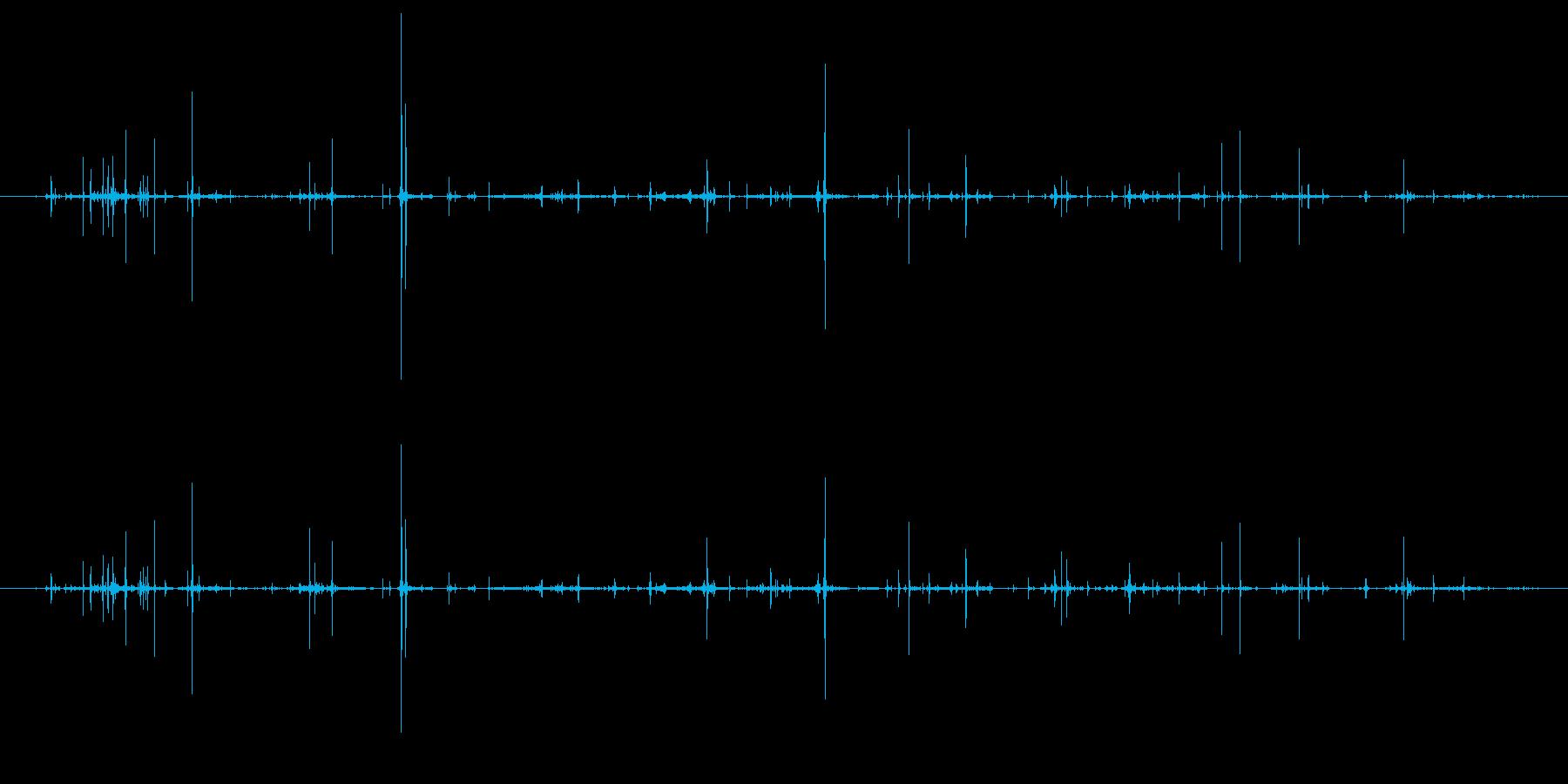 プラスチック挿入ページ付きのCdま...の再生済みの波形