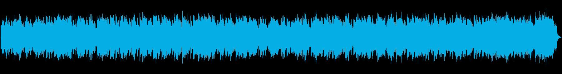 RPGのタイトル画面向け切ないBGMの再生済みの波形