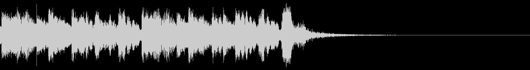 民族 インド 中東系 ジングル♪02の未再生の波形