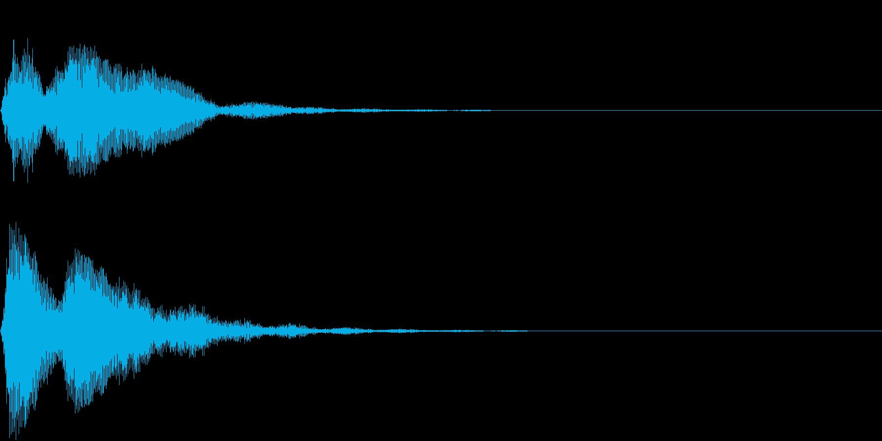 SF CinemaFX ダークなサウンドの再生済みの波形