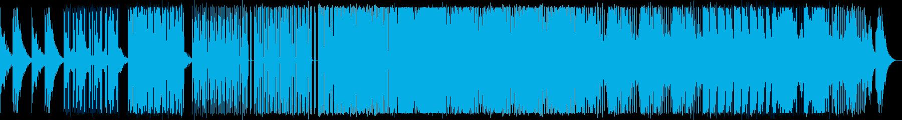 怪しい雰囲気のダブステップの再生済みの波形