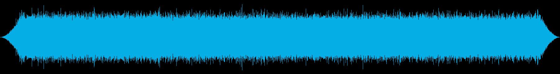 山の滝:重い流れを閉じるの再生済みの波形