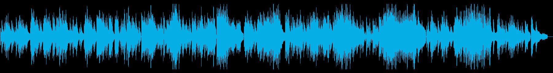 ゆったりとした3拍子ピアノソロ【生演奏】の再生済みの波形