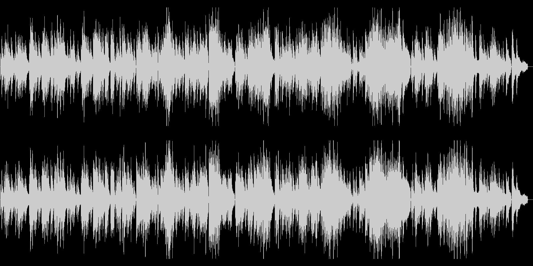 ゆったりとした3拍子ピアノソロ【生演奏】の未再生の波形