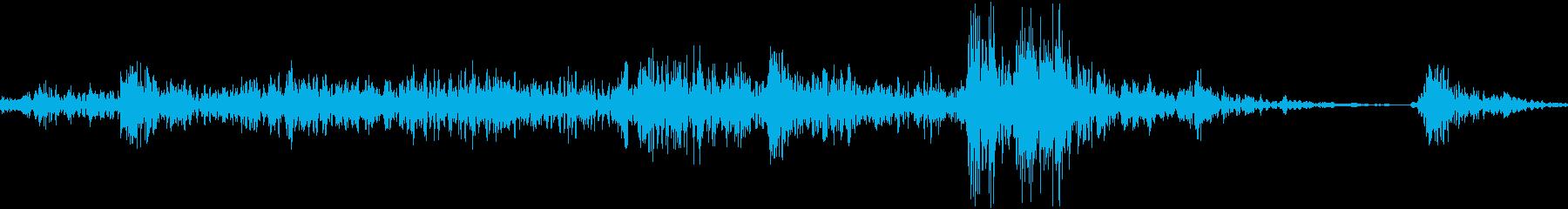 レジスターを閉める(プラスチック製)の再生済みの波形