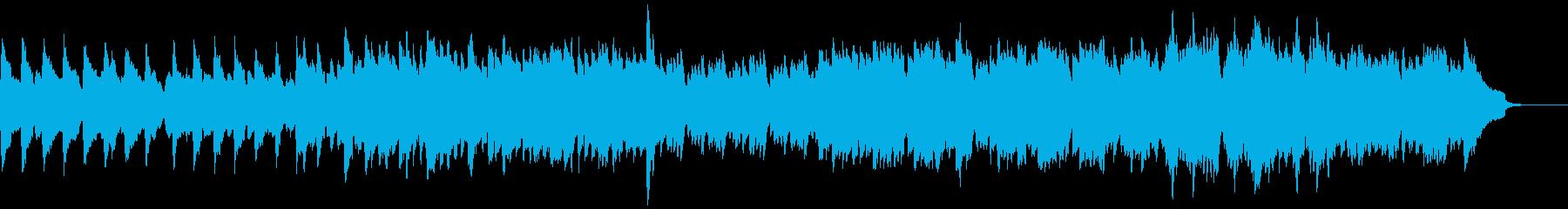【リズム抜】自然をイメージしたのびやかなの再生済みの波形