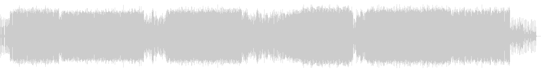 神秘的な旋律を織り交ぜたEDMの未再生の波形