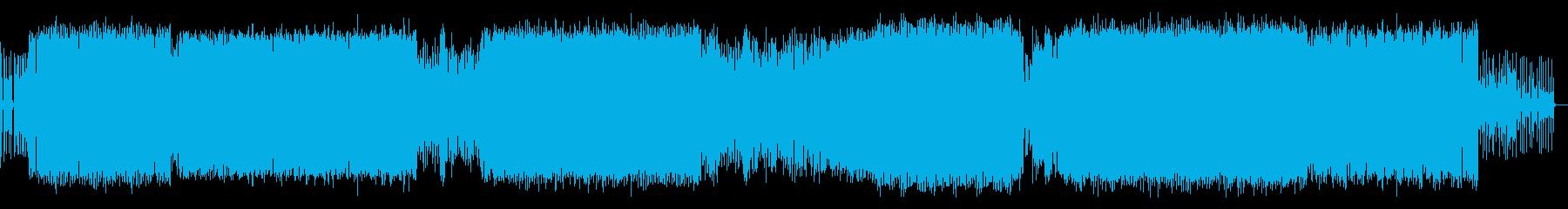 神秘的な旋律を織り交ぜたEDMの再生済みの波形