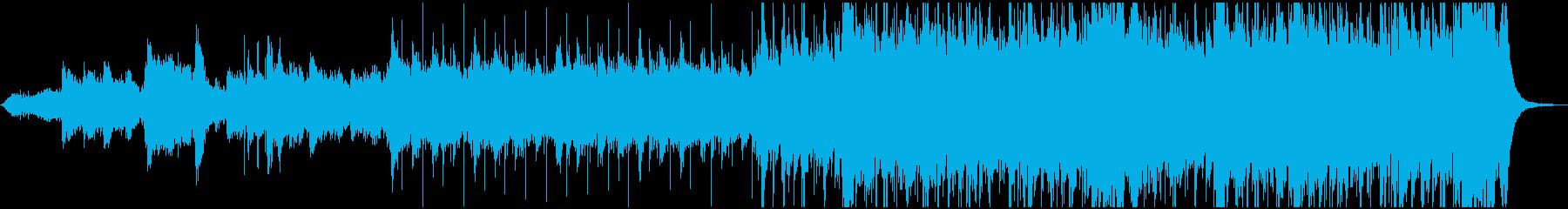 カッコイイ宇宙系クロスオーバーの再生済みの波形