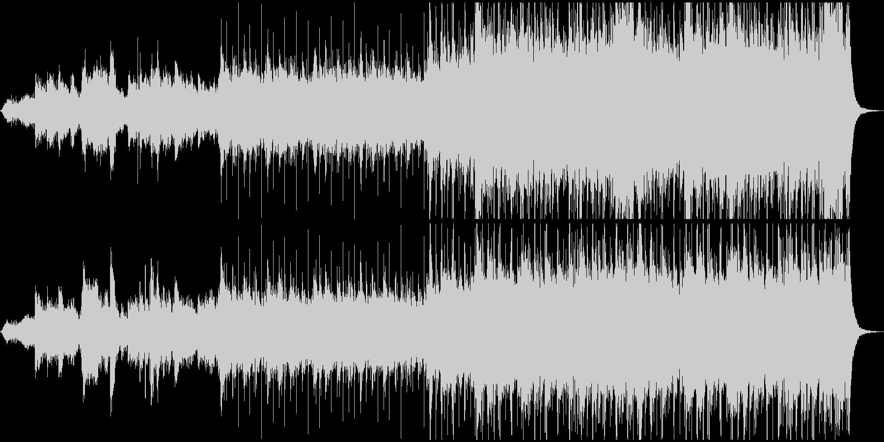 カッコイイ宇宙系クロスオーバーの未再生の波形