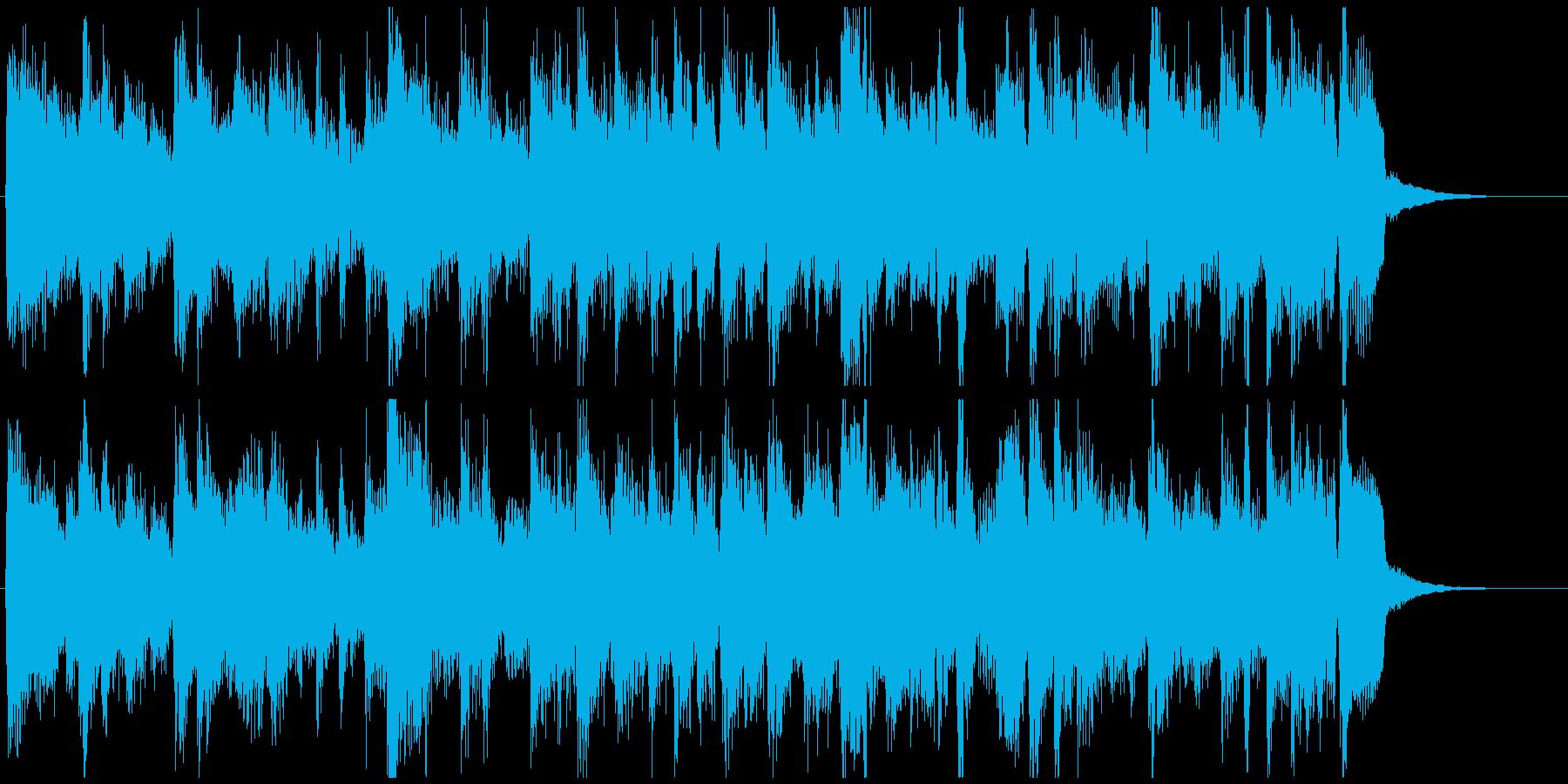 15秒CM向け、凛々しいサックスボサノバの再生済みの波形