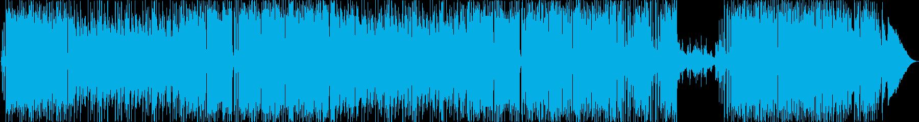 ほのぼの&軽いボサノヴァ系ポップスです。の再生済みの波形