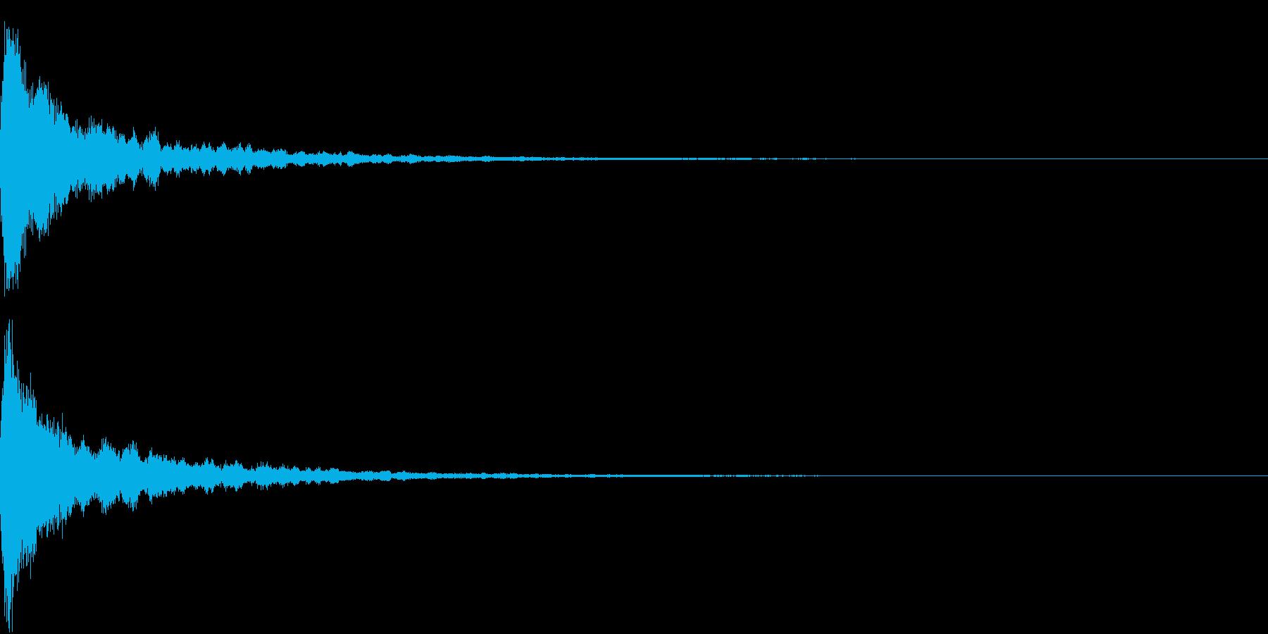 Anime 封印が解ける音 結界 バリアの再生済みの波形