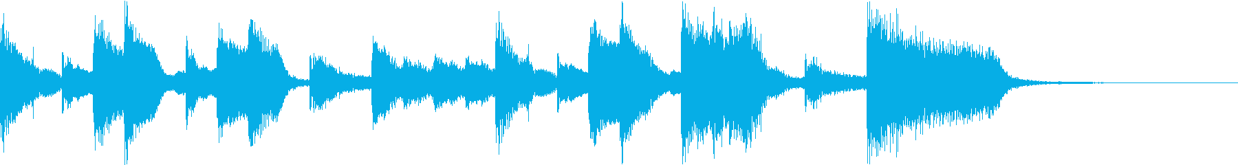 Comical naughty cute fun CM f's reproduced waveform