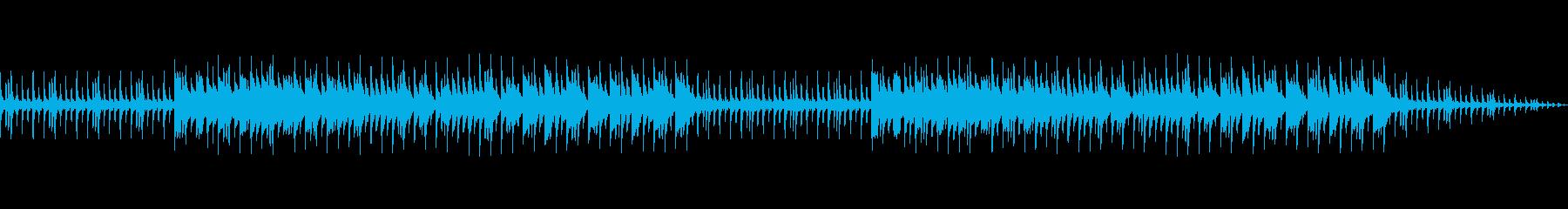 楽しいミニゲームが始まる前に流れるBGMの再生済みの波形