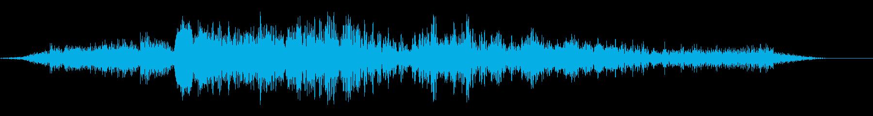 ロボット運動の金属摩擦の再生済みの波形