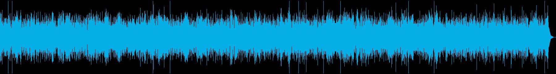 ウクレレ中心のリラックスハワイアンバンドの再生済みの波形