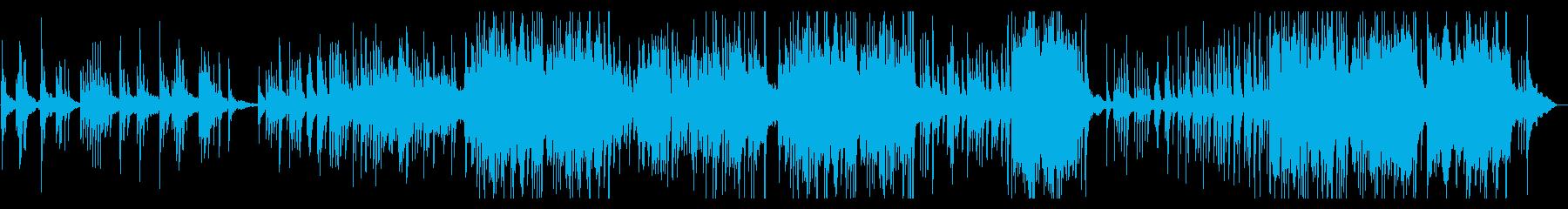 メロディアスなピアノソロの再生済みの波形