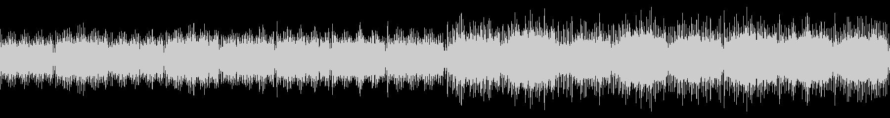 レトロなプレリュード(ゲーム画面などに)の未再生の波形