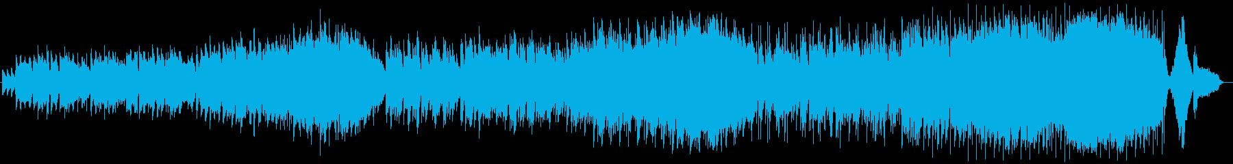 グランドフィナーレを飾る華麗なブライダルの再生済みの波形