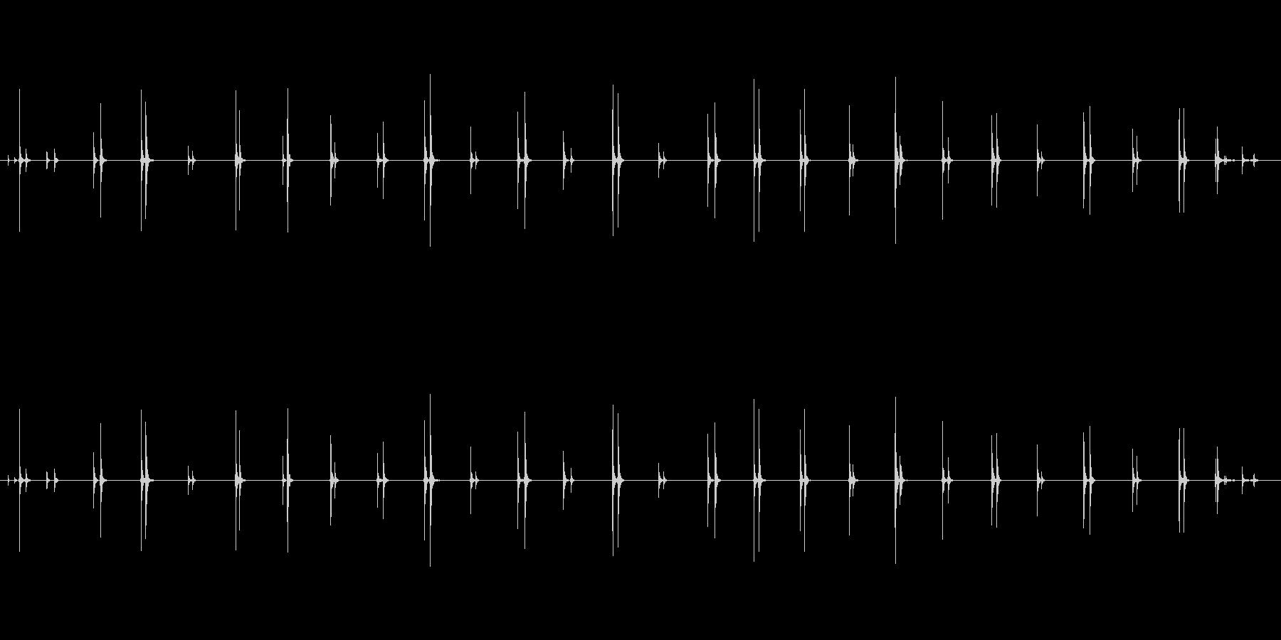 ステップ スニーカー木製寄木細工階...の未再生の波形