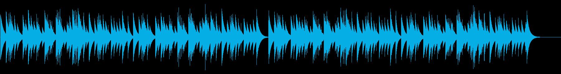 お正月 カード式オルゴールの再生済みの波形