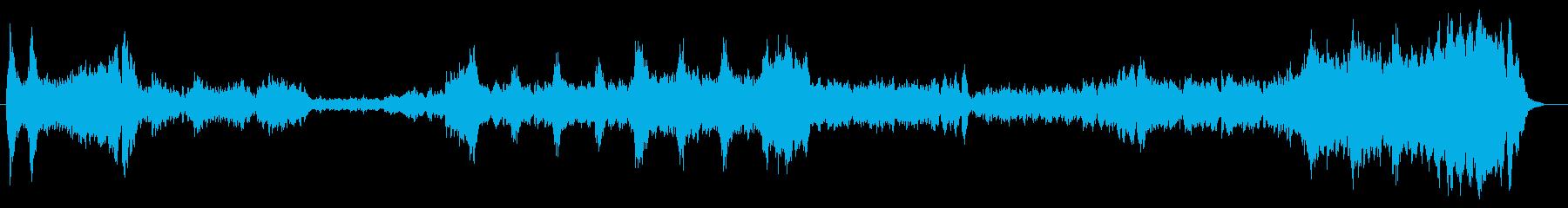 疾走感のあるオーケストラの再生済みの波形