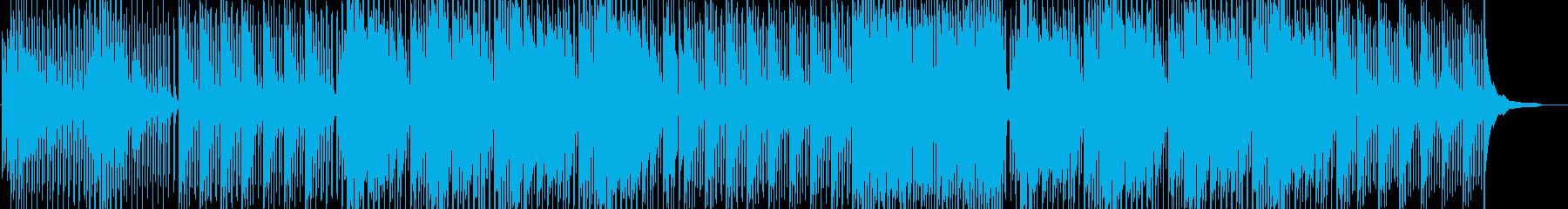 爽やか・切ないピアノが印象的なハウスの再生済みの波形