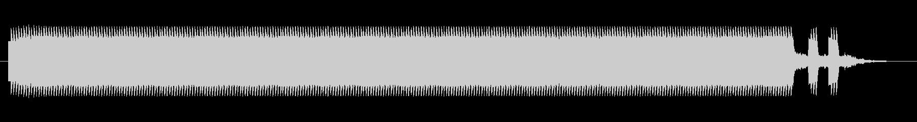 鉄道サウンド 駅発車ベル タイプCの未再生の波形
