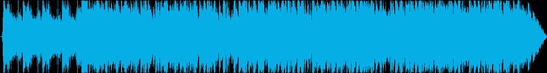 クールなウエスタンミュージックの再生済みの波形