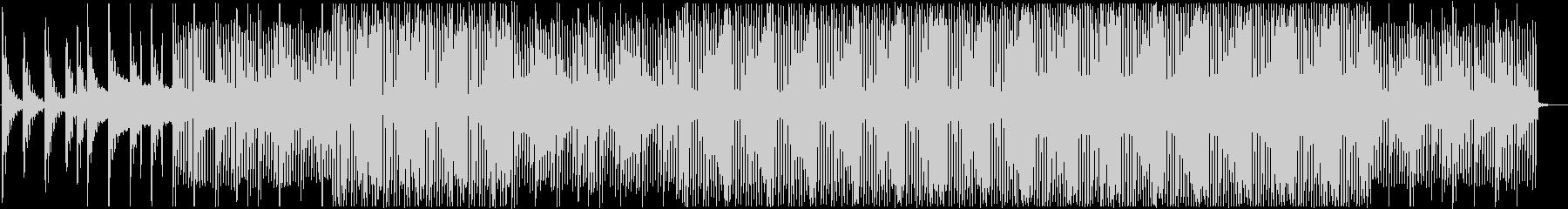 爽やか穏やかなピアノハウスの未再生の波形