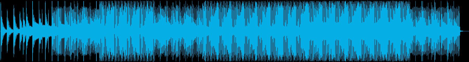 爽やか穏やかなピアノハウスの再生済みの波形