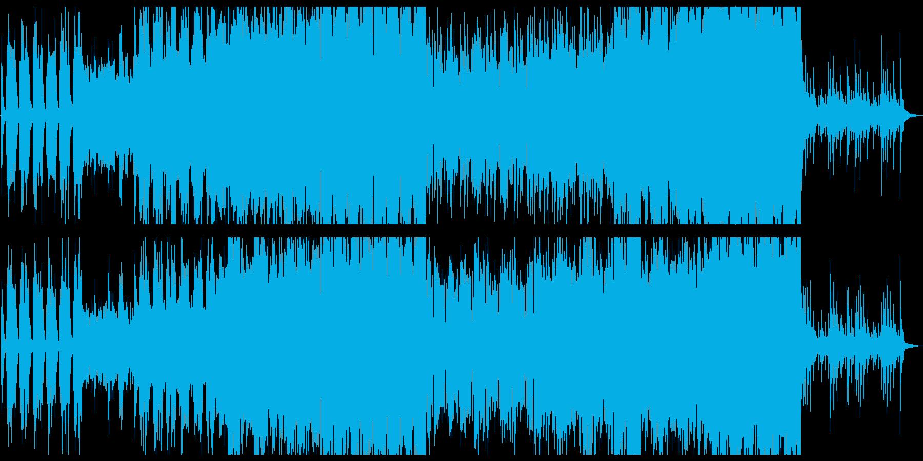 高貴な雰囲気のクラシカル曲の再生済みの波形