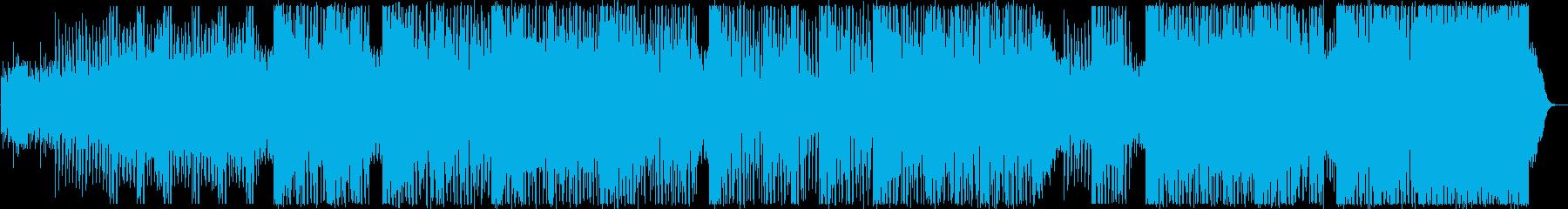 ダークでエッジの効いたシンセとサン...の再生済みの波形