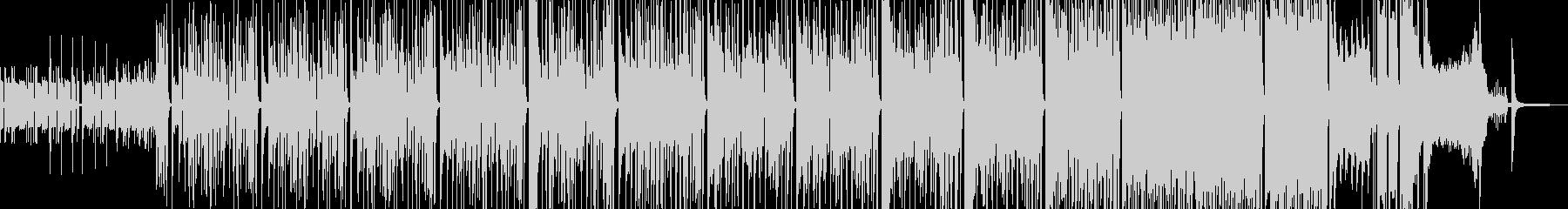 タイム制限クイズ・徐々に加速する構成の未再生の波形