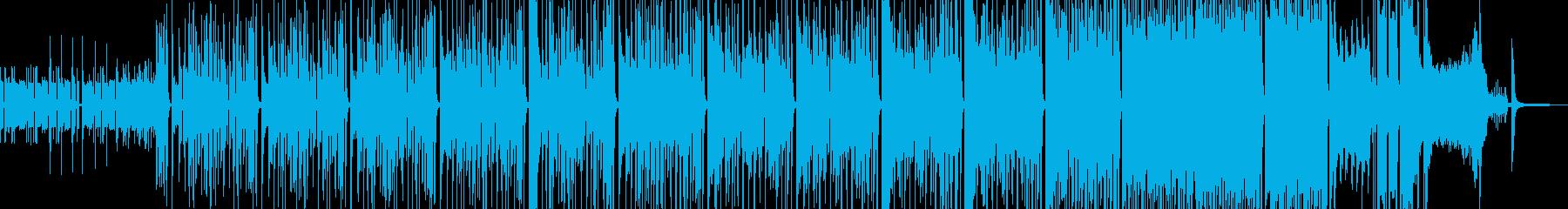 タイム制限クイズ・徐々に加速する構成の再生済みの波形