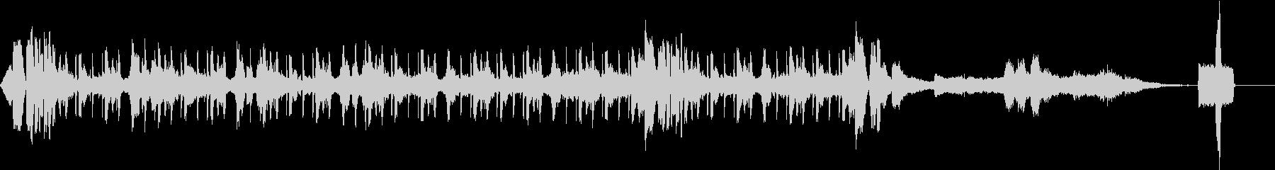 幻想的でテクノチックな曲40秒Ver.の未再生の波形