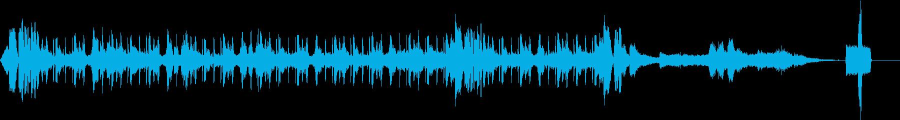 幻想的でテクノチックな曲40秒Ver.の再生済みの波形