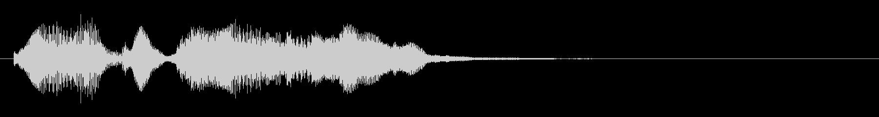 のほほんジングル024_かわいい+3の未再生の波形