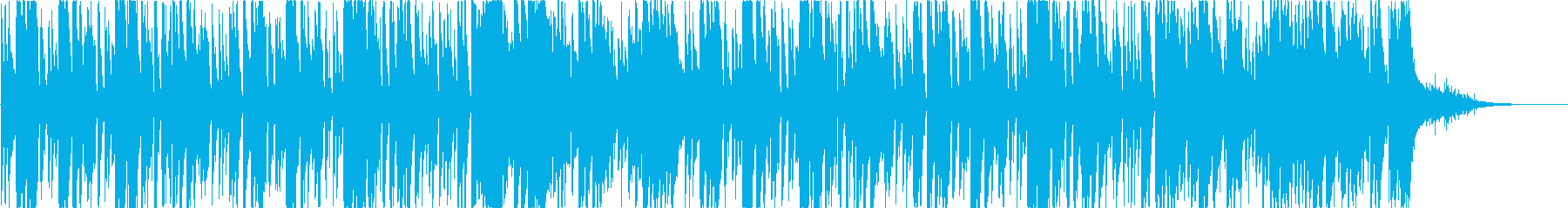 ウクレレとグロッケンのボサノバ曲 短編の再生済みの波形
