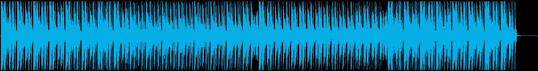 南国感ありアフロビート トロピカルハウスの再生済みの波形