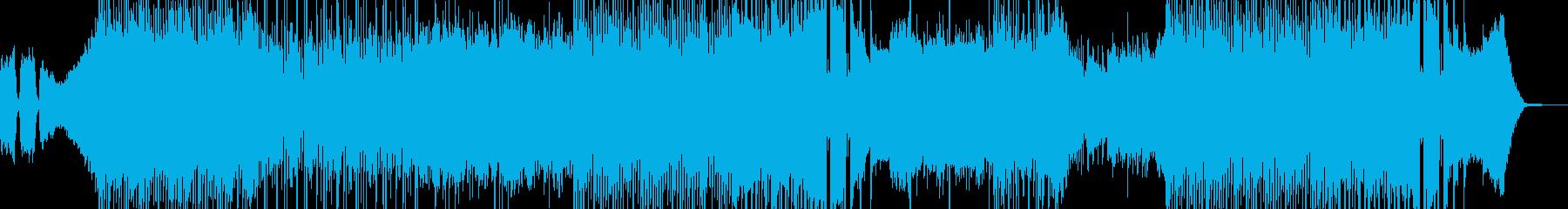 悲しみの波が押し寄せる演出に ドラム有Aの再生済みの波形