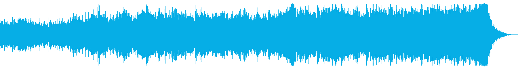 Mysterious Power60秒版の再生済みの波形