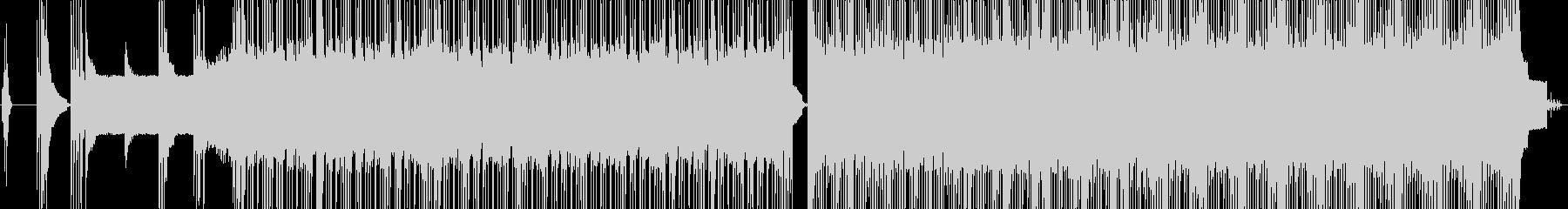 ハードロック。リズミカルなロックと...の未再生の波形