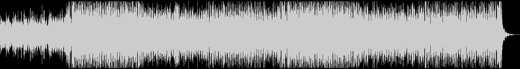 陽気な口笛のトロピカルハウスの未再生の波形
