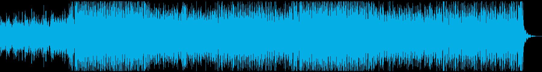 陽気な口笛のトロピカルハウスの再生済みの波形